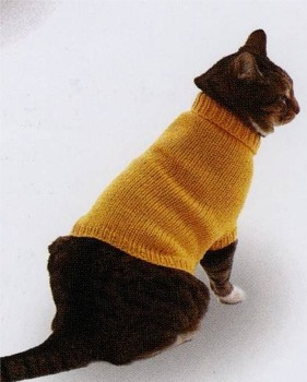 Animal Hoodie Knitting Pattern : Cat Sweater Pattern Knit - Gray Cardigan Sweater