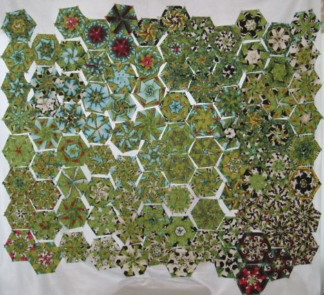 Patterns free hexagon patterns – table Free Google runner Quilt